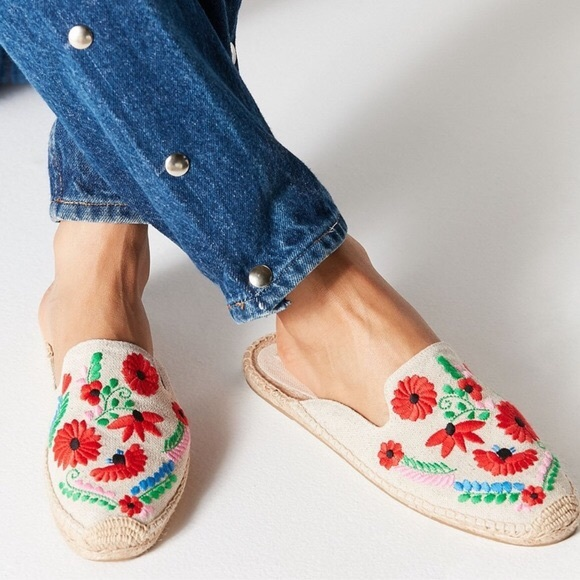 Soludos Shoes - Soludos Ibiza Embroidered Mule